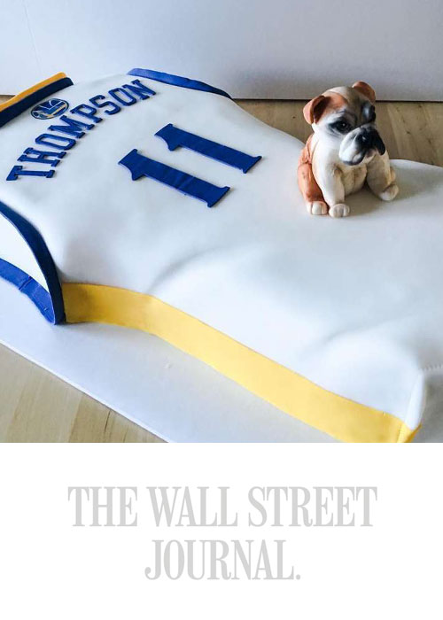 The Golden State Warriors Take the Birthday Cake