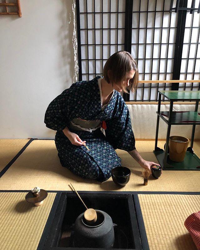 Love of my life♥️ #japaneseteaceremony