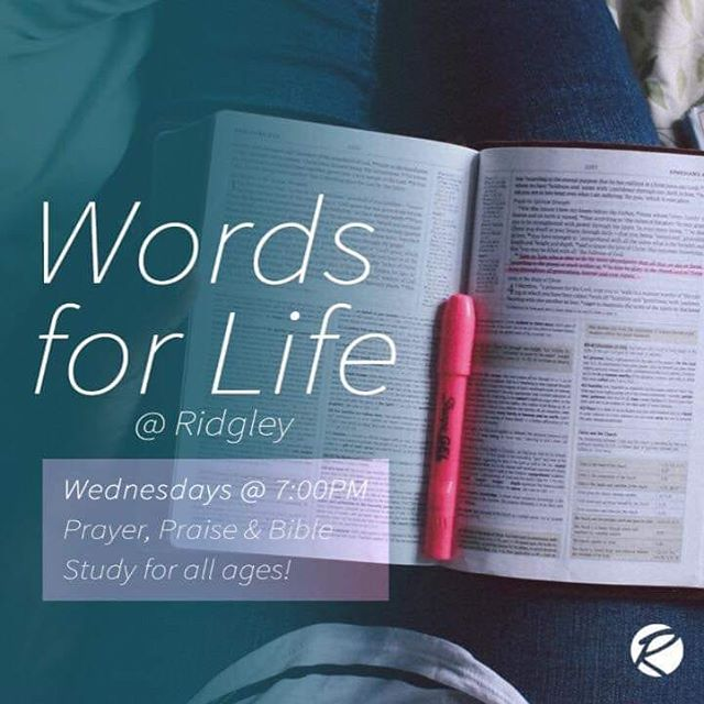 Join us tonight for our midweek Bible Study! Bring someone with you as we explore the Word of God!