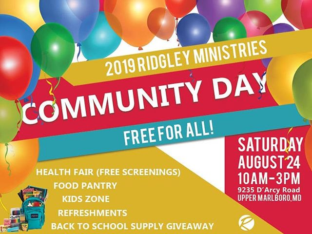 Join us on Saturday between 10AM-3PM for Community Day.