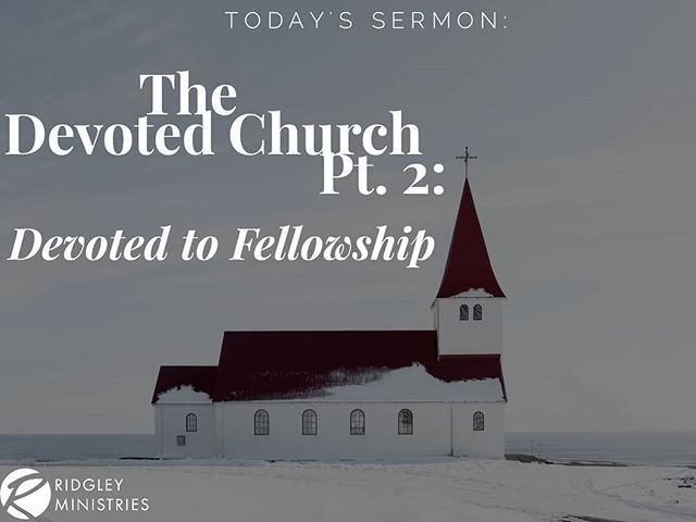 "Service today was on fire! We climaxed with a powerful word from our Pastor as he continued his series, ""The Devoted Church."" Enjoy these nuggets! #RidgleyMinistries #COGIC #WelcomeHome #PastorPatrickRussell #LadyTekeshaRussell #church #sundays"