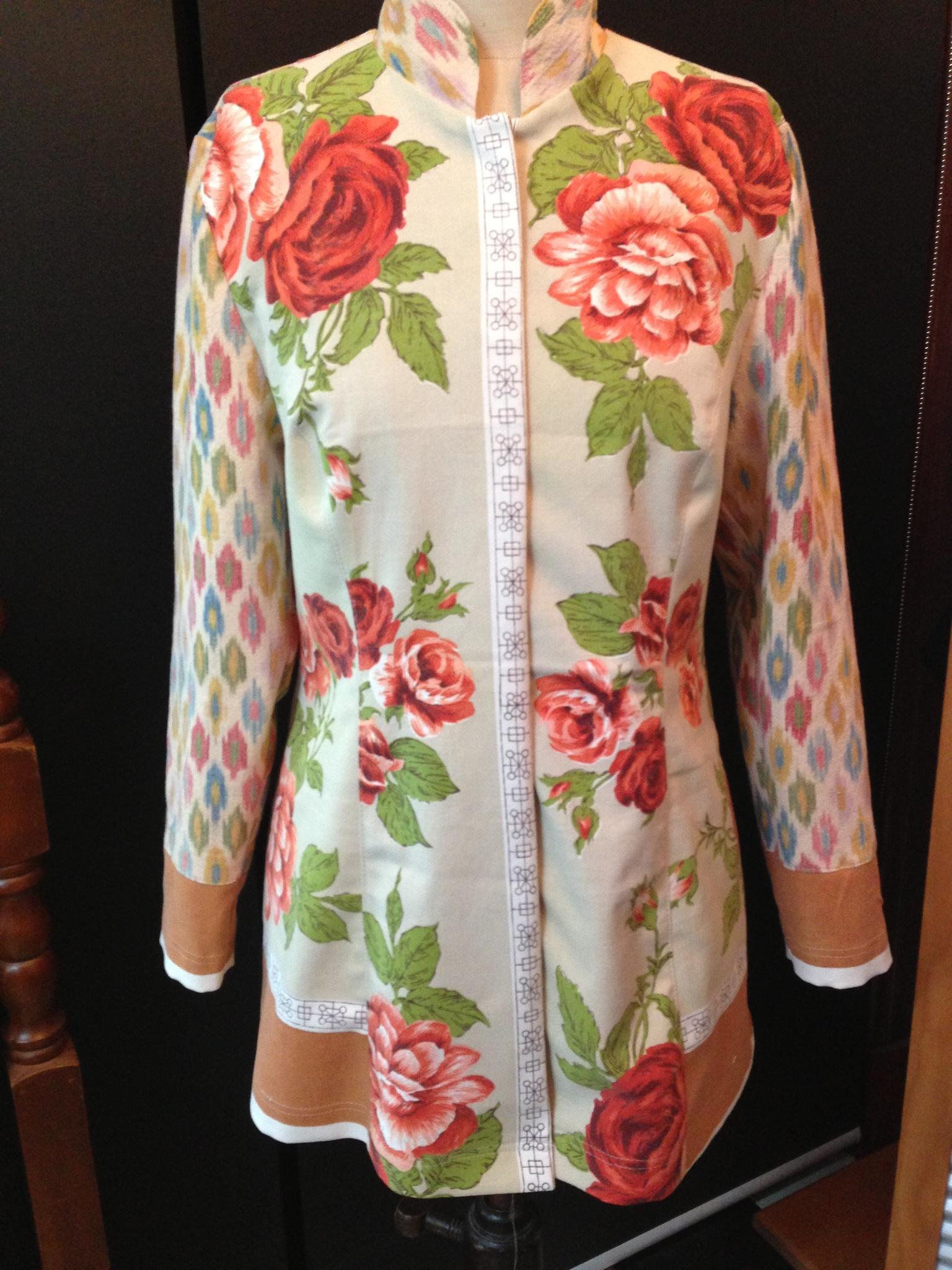 jacket tablecloth and ikat.jpg