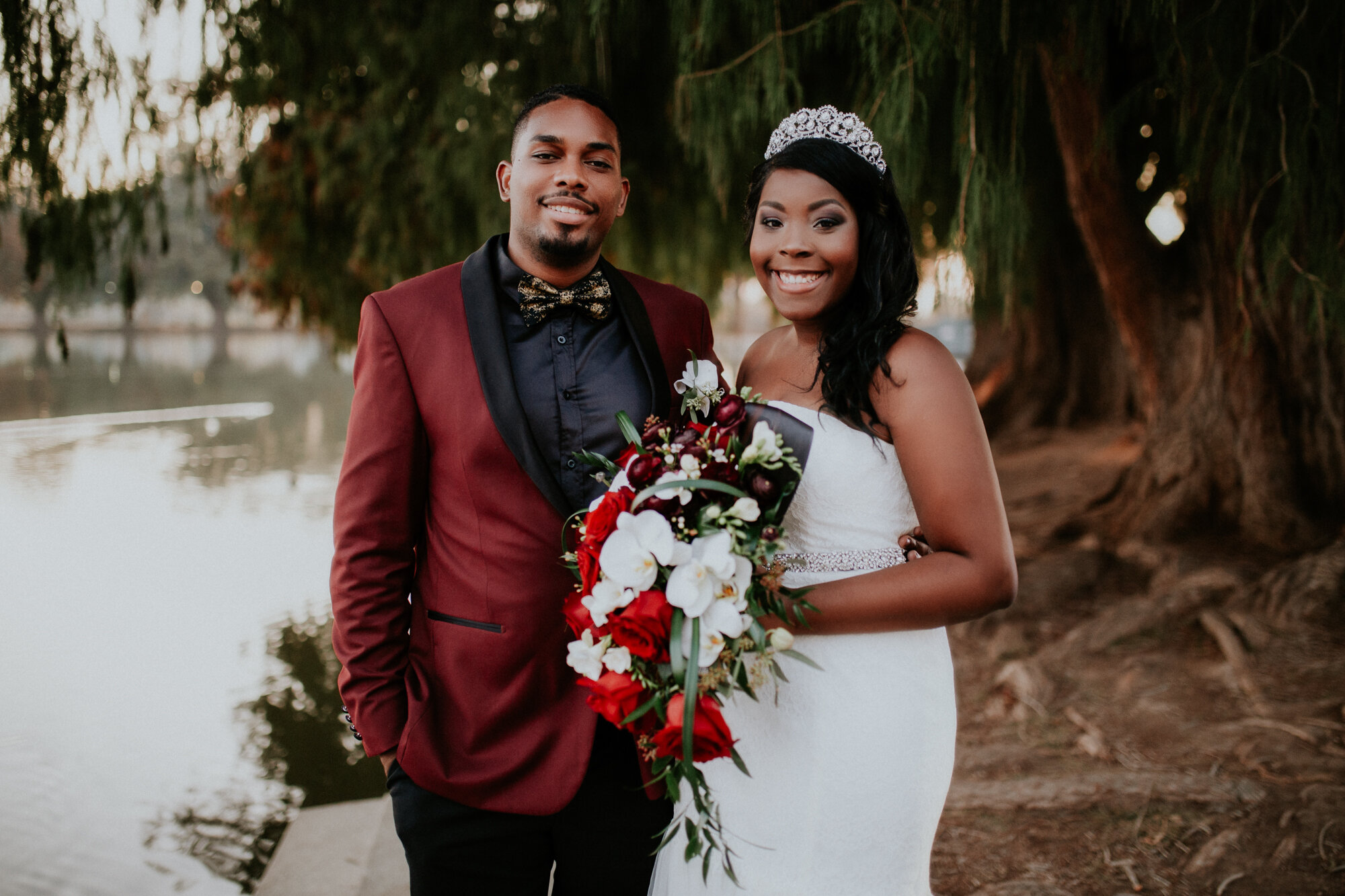 Mia & Rob - A beautiful, small and lovely wedding at the San Bernadino courthouse! Such a different kind of wedding but still equally as beautiful and moving to be apart of.