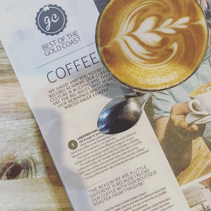 Lakeview Espresso - Voted Best Coffee on the Gold Coast 2018 GC Bulletin.AGFG Readers Choice Award: Winner ' Cafe, Gold Coast QLD' 2018