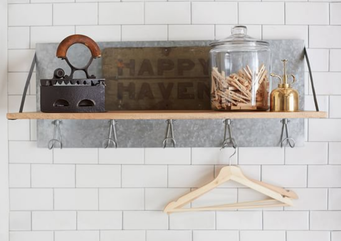 GALVANIZED SHELF -