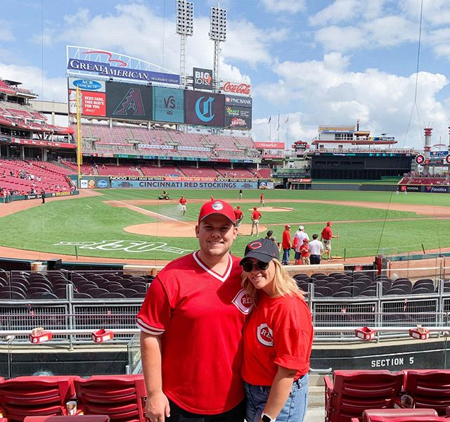 this one didn't belong to the reds today, but it's okay because we have had the best 24 hours here in cinny ⚾️