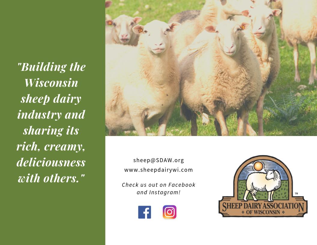 News — Sheep Dairy Association of Wisconsin