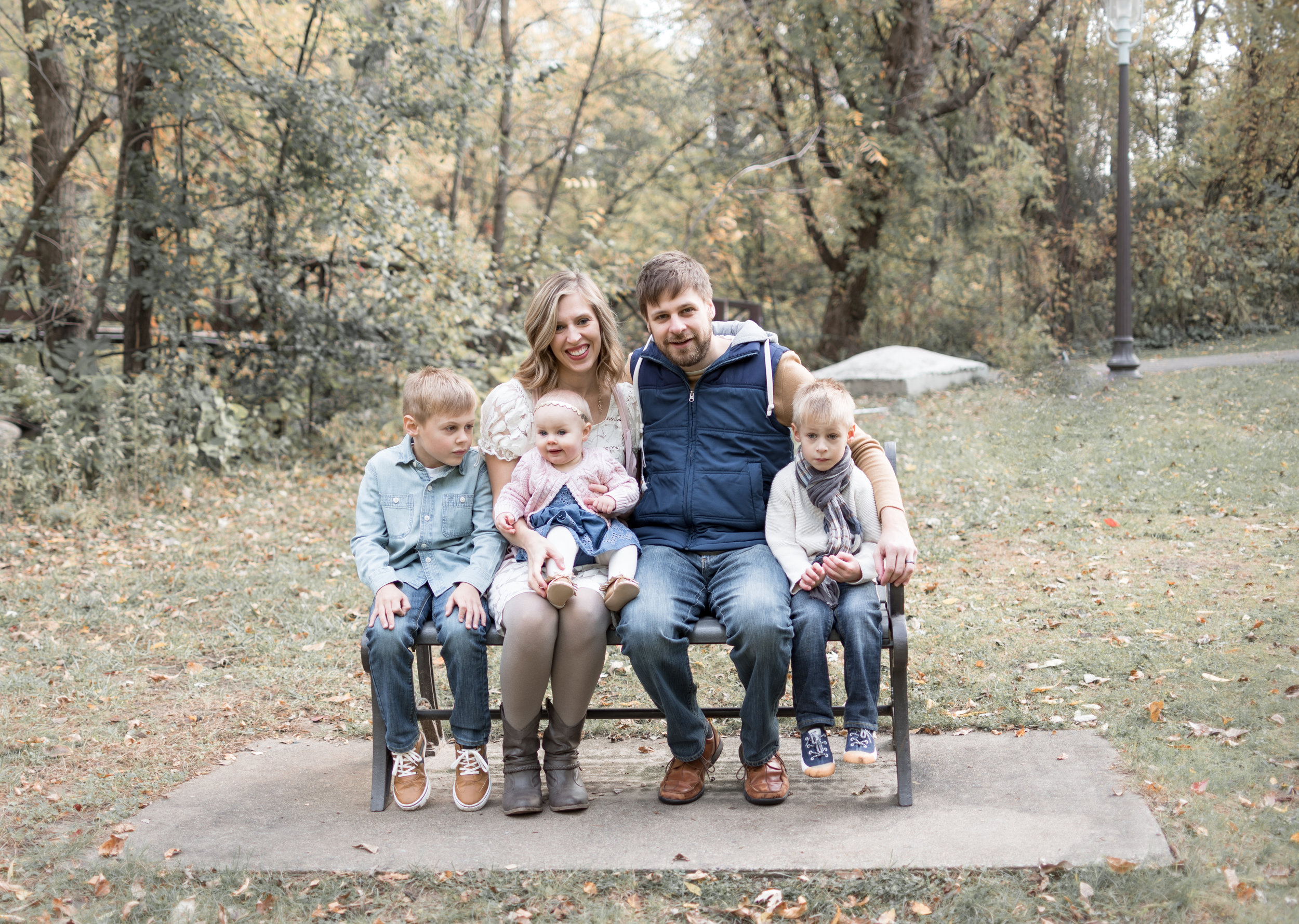 "Rusnak Family   ""These are beautiful family photos, Danielle, you are a picture magician!"" - Melissa R,, Fridley, Mn"