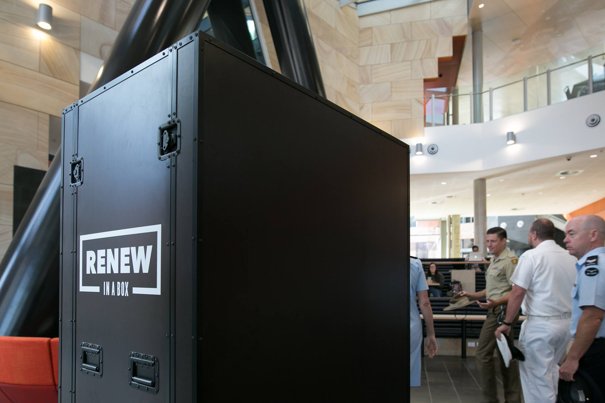 Renew in a Box  Mobile Museum -