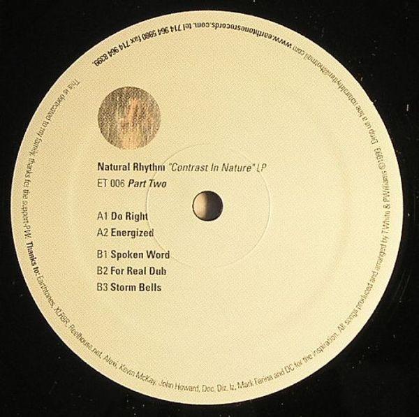 Contrast In Naturae Pt. 2  Earthtones Recordings (1999)
