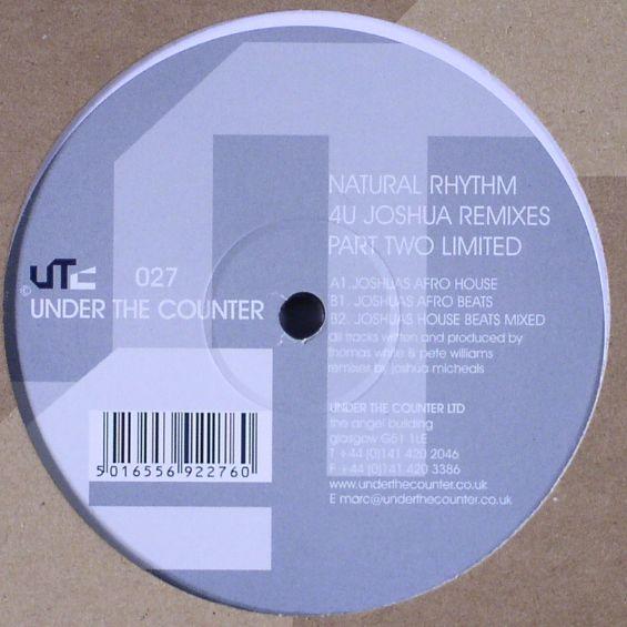 4U Part 2 (Joshua Remixes)  Under The Counter (2000)