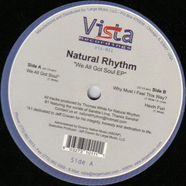 We All Got Soul EP  Vista Recordings (2002)
