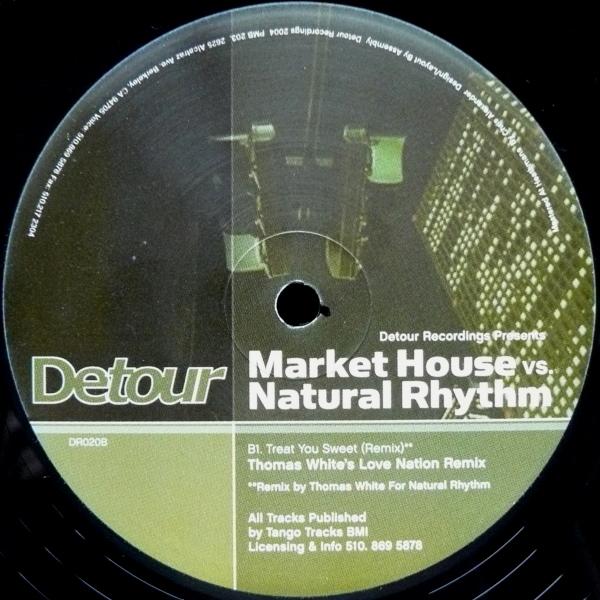 Market House vs. Natural Rhythm  Detour Recordings (2004)