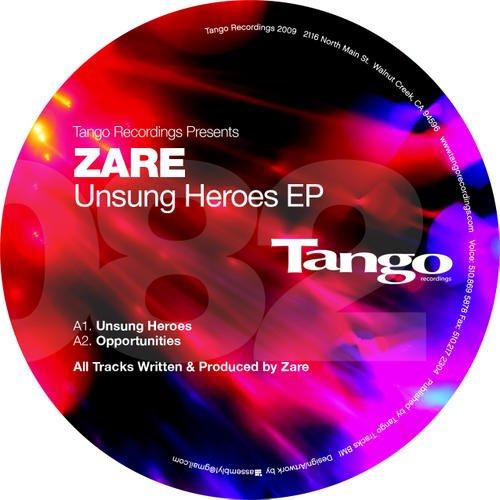 "Zare ""Oppurtunitiies""  Tango Recordings (2009)"