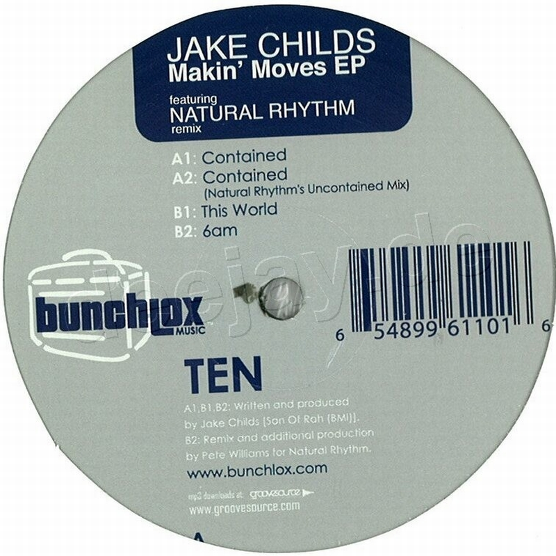 """Jake Childs """"Contained""""  Bunchlox Music (2006)"""