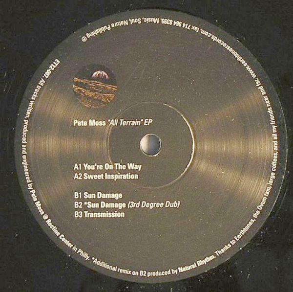 """Pete Moss """"Sun Damage""""  Earthtones Recordings (2000)"""