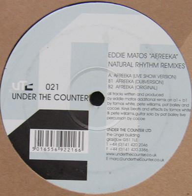 """Eddie Matos """"Afreeka""""  Under The Counter (2001)"""