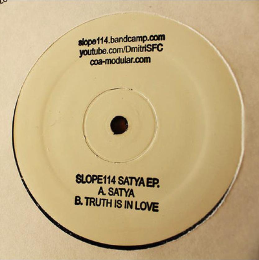 "Slope114 ""Satya""  White Label (2016)"
