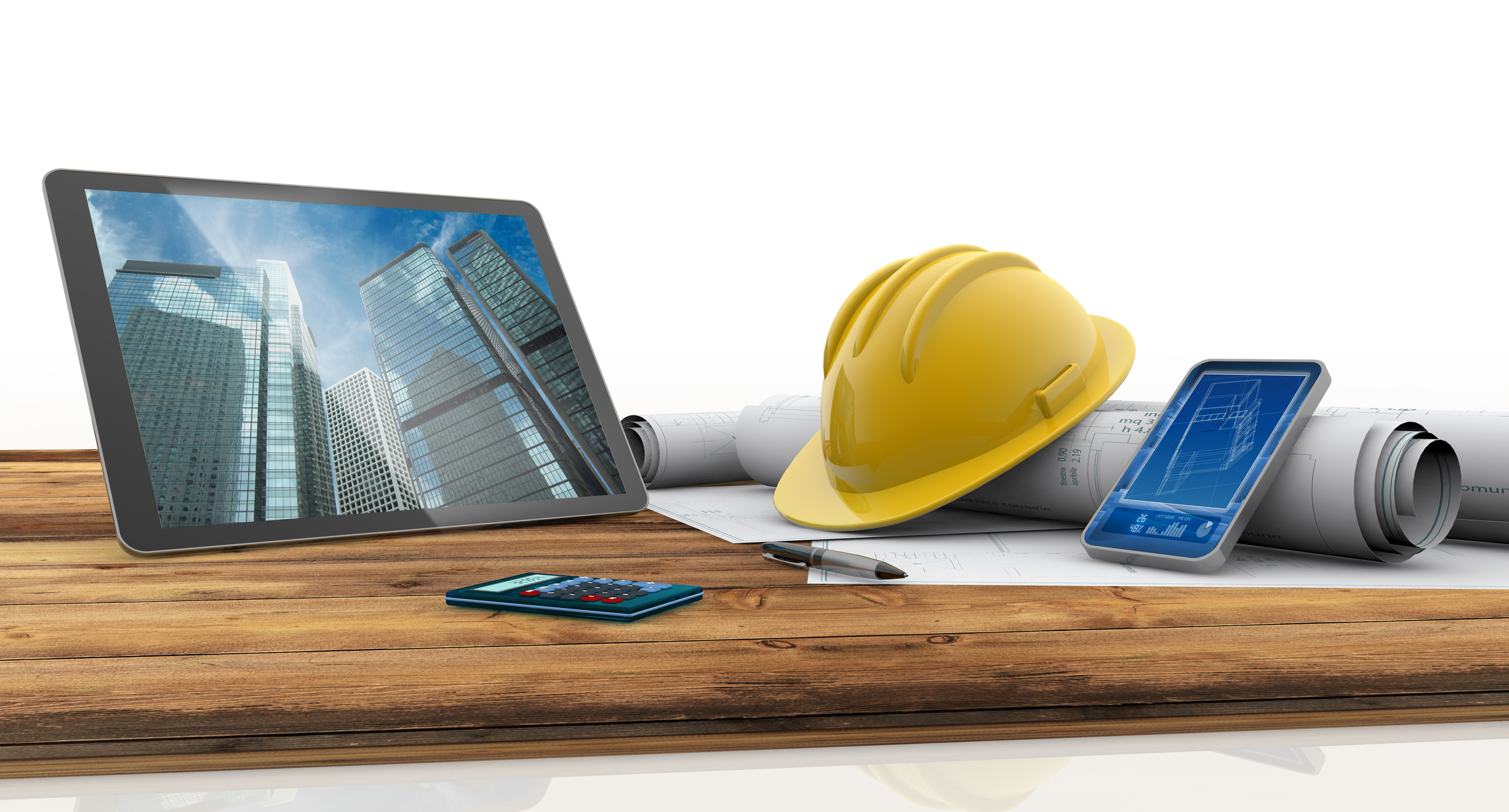 Digitally connected to office - Onsite project managers are updated in real time on plans and project information