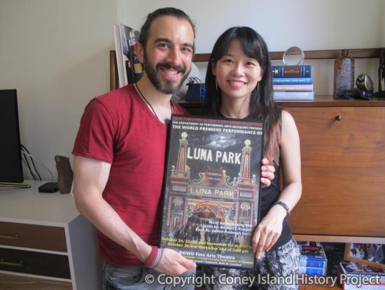 Hyeyoung Kim and Michael Cooper - Composer and lyricist of Luna Park, a musical, on chronicling the partnership of Thompson and Dundy