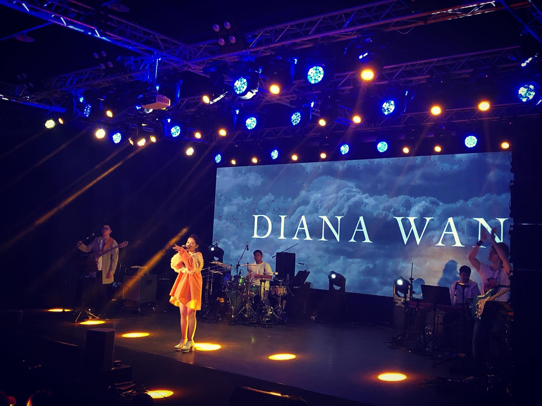 Diana Wang in Raffia Dress (GMA Music Award )