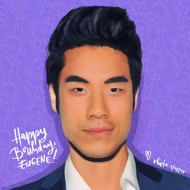 Posted this earlier on Twitter for @eugeneleeyang's birthday... HAPPY BIRTHDAY QUING! ❤️🥰 So happy you're part of the @tryguys because everyone on the team is amazing! Also the first guy this year. 😮 . #illustration #eugeneleeyang #tryguys #fanart #artoftheday #drawing #procreateapp #procreate #drawingoftheday #tryguyeugene #artwork #celebrity #artistsoninstagram #instaart