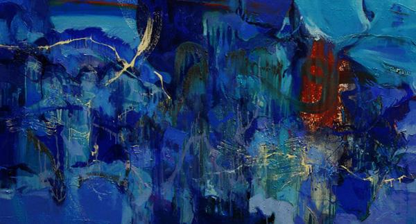 Blue Rain I
