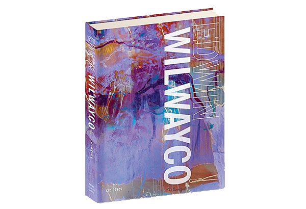 Edwin Wilwayco coffee table book authored by award-winning art critic Cid Reyes.