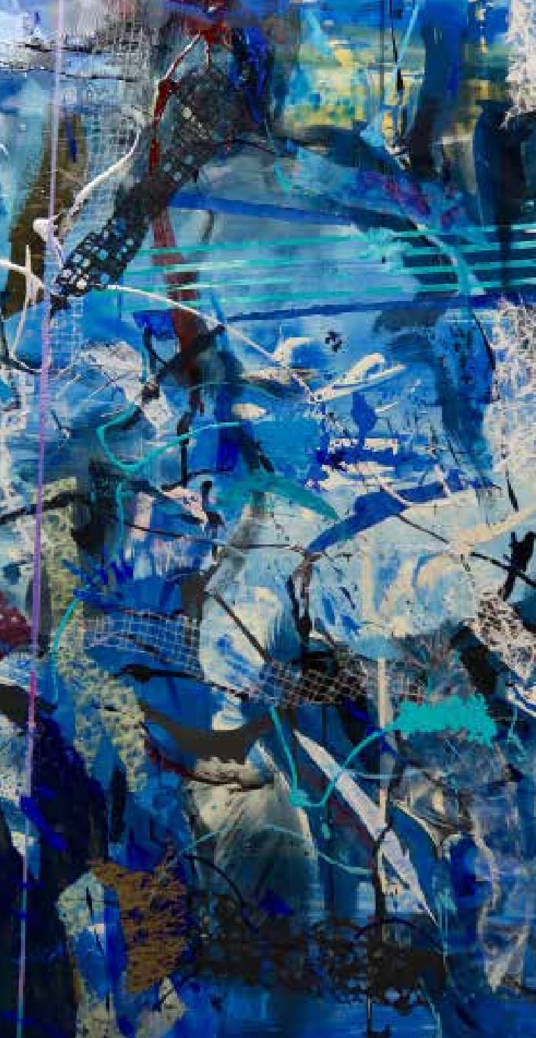 Correspondence with Erik Satie   Blue 1