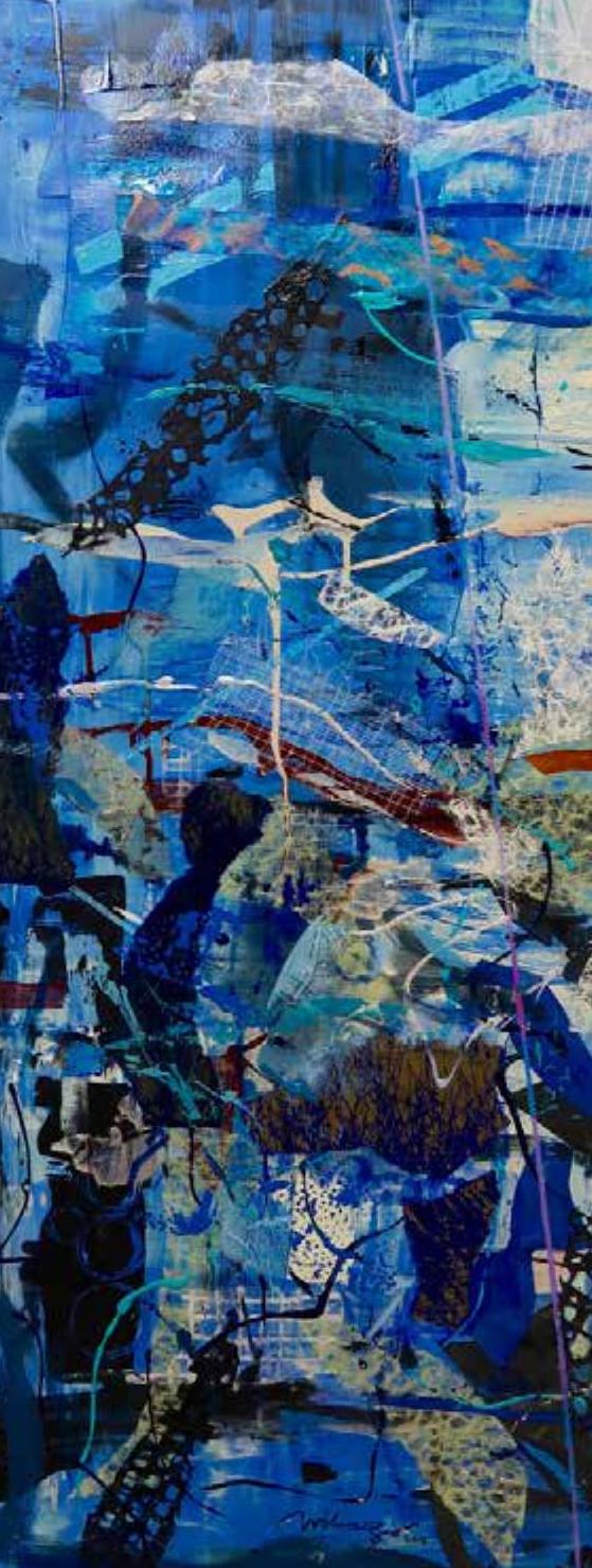 Correspondence with Erik Satie   Blue 2