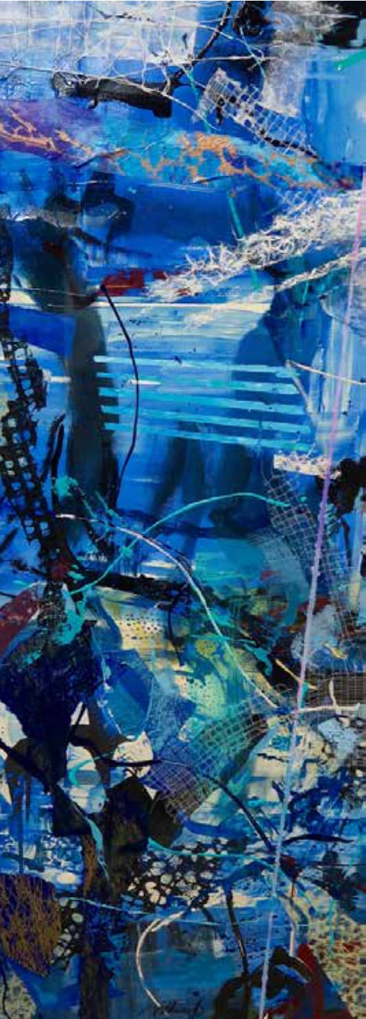 Correspondence with Erik Satie   Blue 3
