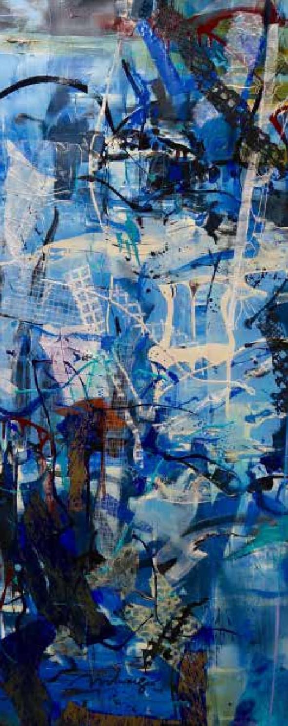 Correspondence with Erik Satie   Blue 4