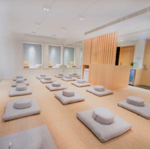 Enhale Meditation Studio in Central.
