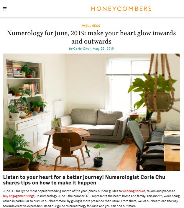 Honeycombers June 2019 Numerology Tips Corie Chu Healing.png