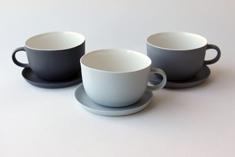 Linum tea cup with handle Ø 9cm, 2006