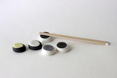 Chopsticks pillow Ø 3,5 cm, 2014