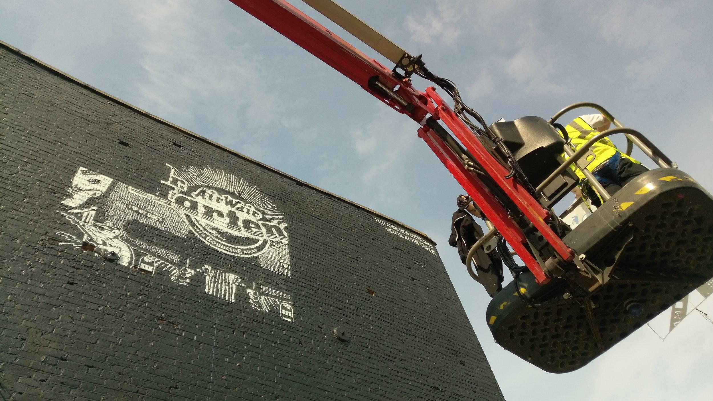 Dr Martens Mural Project | Lift