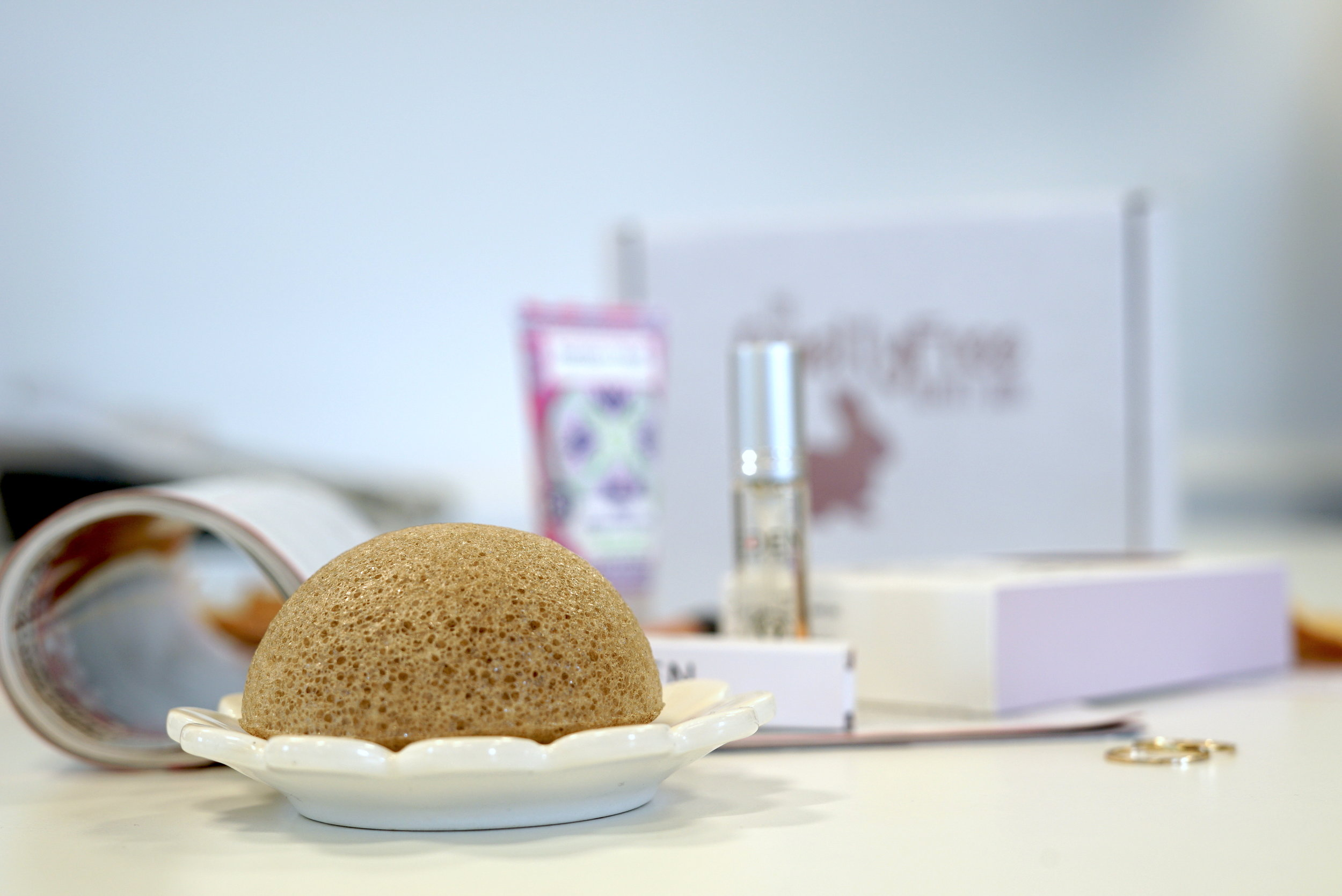The Konjac Sponge - I recently posted about my successful experience with this little gem. It's a small but mighty, 100% natural cleansing tool which effectively replenishes and accelerates a healthy skin cycle. It has some truly incredible results and my skin has never looked better!