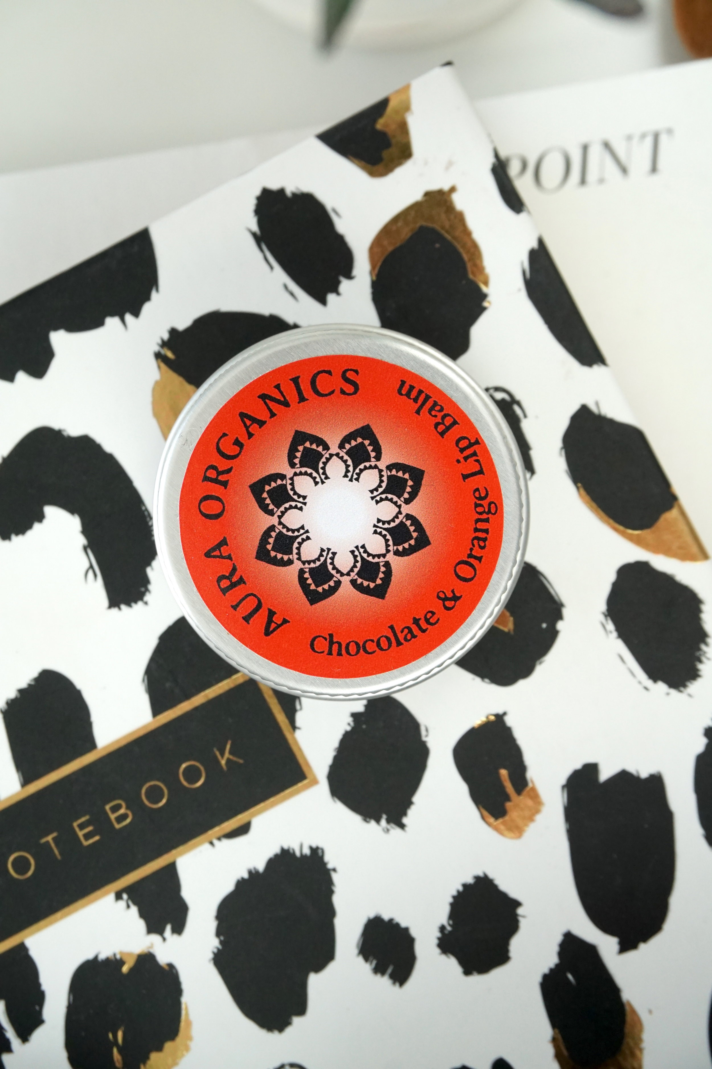 Aura Organics - Vegan Chocolate and Orange Lip Balm