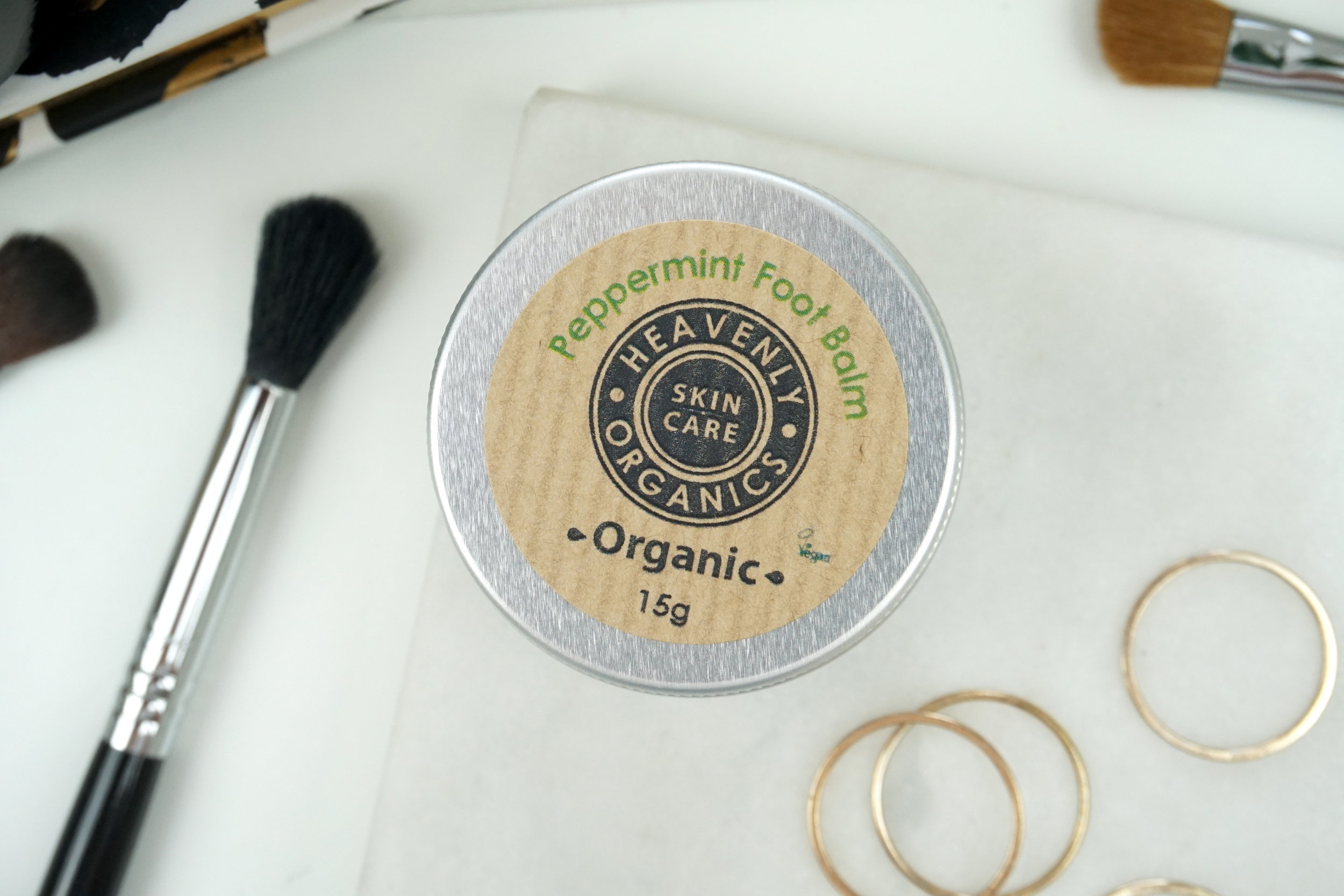 Heavenly Organics - Peppermint Foot Balm