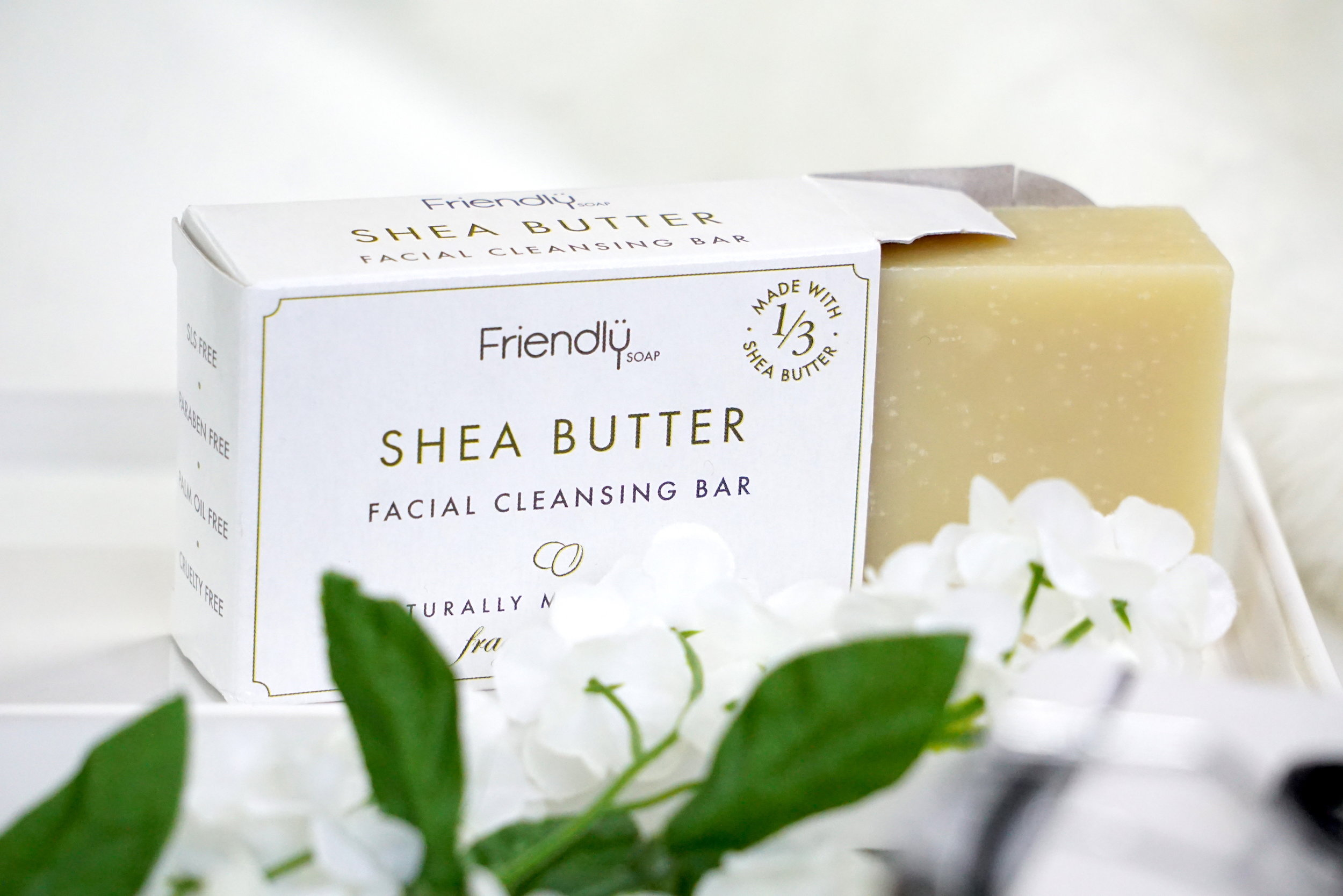 Friendly Soap Shea-Butter - I love soap, it's such a simple product that always works wonders for me. I think an old classic sometimes works best and this shea butter soap is definitely something I'll make use of. Their packaging is 100% plastic free, too!