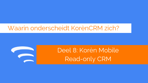 Mobiele crm read only