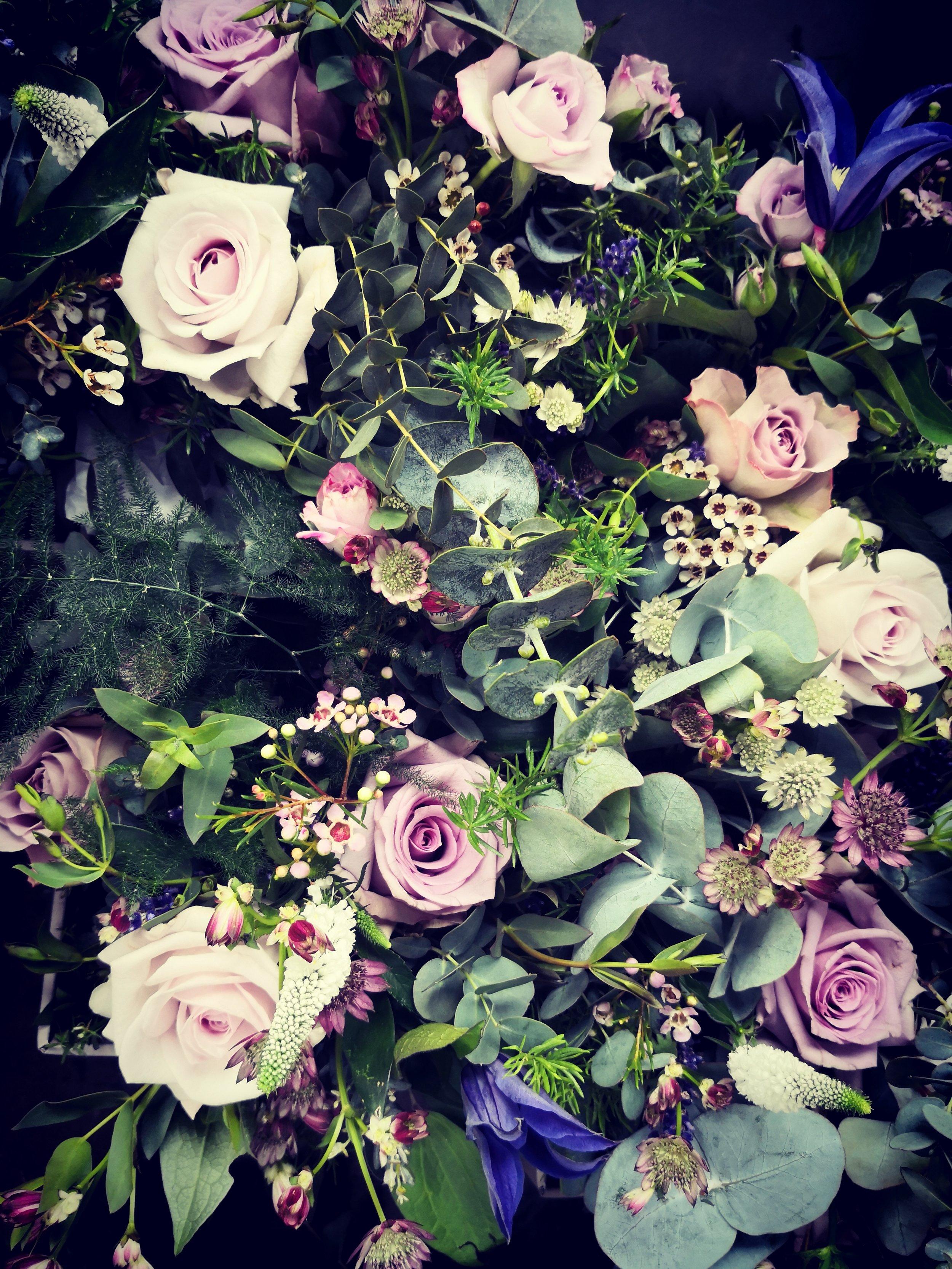 Bouquet close up…