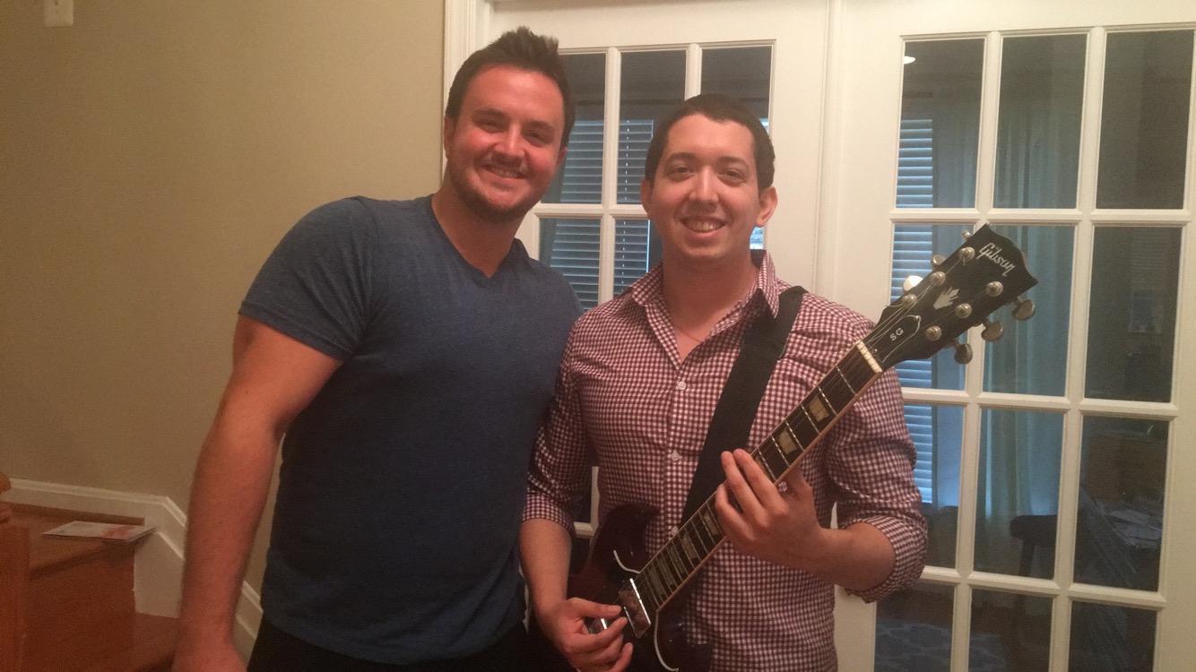 Brett Stockman and Diego Davenhall