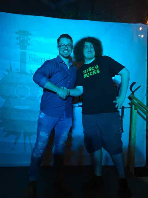 Taylor Hart and Will Salzmann (2016 AGT Winner)