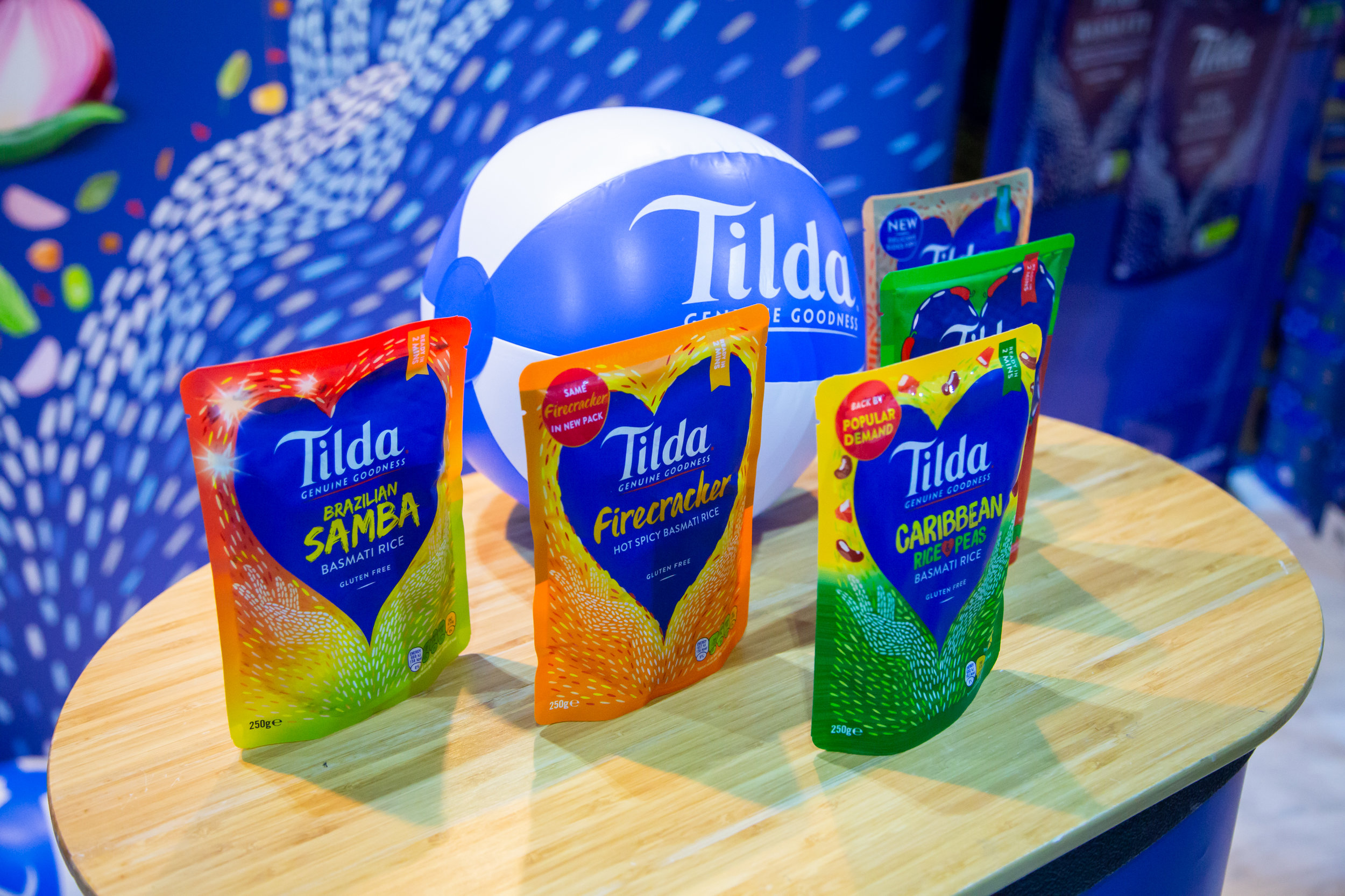 TILDA - Whether you're building up a biryani or smashing out a stir fry Tilda are here to keep people inspired, trying new things, and enjoying life enriched by the cultures and flavours of the world.Tilda are great supporters of all the world's wonderful flavours that we find on every corner in Britain and around the world. From Jamaican to Pakistani, West African to Cantonese food. Bradford to Brick Lane and back again.For over 45 years Tilda have been the go-to choice of rice aficionados, from great grandmothers, to great chefs. We're proud to sit at the heart of so many dinner tables. Whether you consider yourself a foodie or not, Tilda only provide the best grains that make your meal taste wonderful and flavourful!