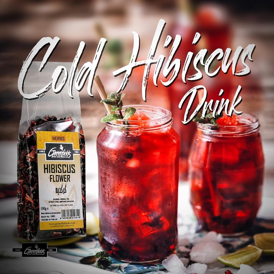 COLD HIBISCUS DRINK