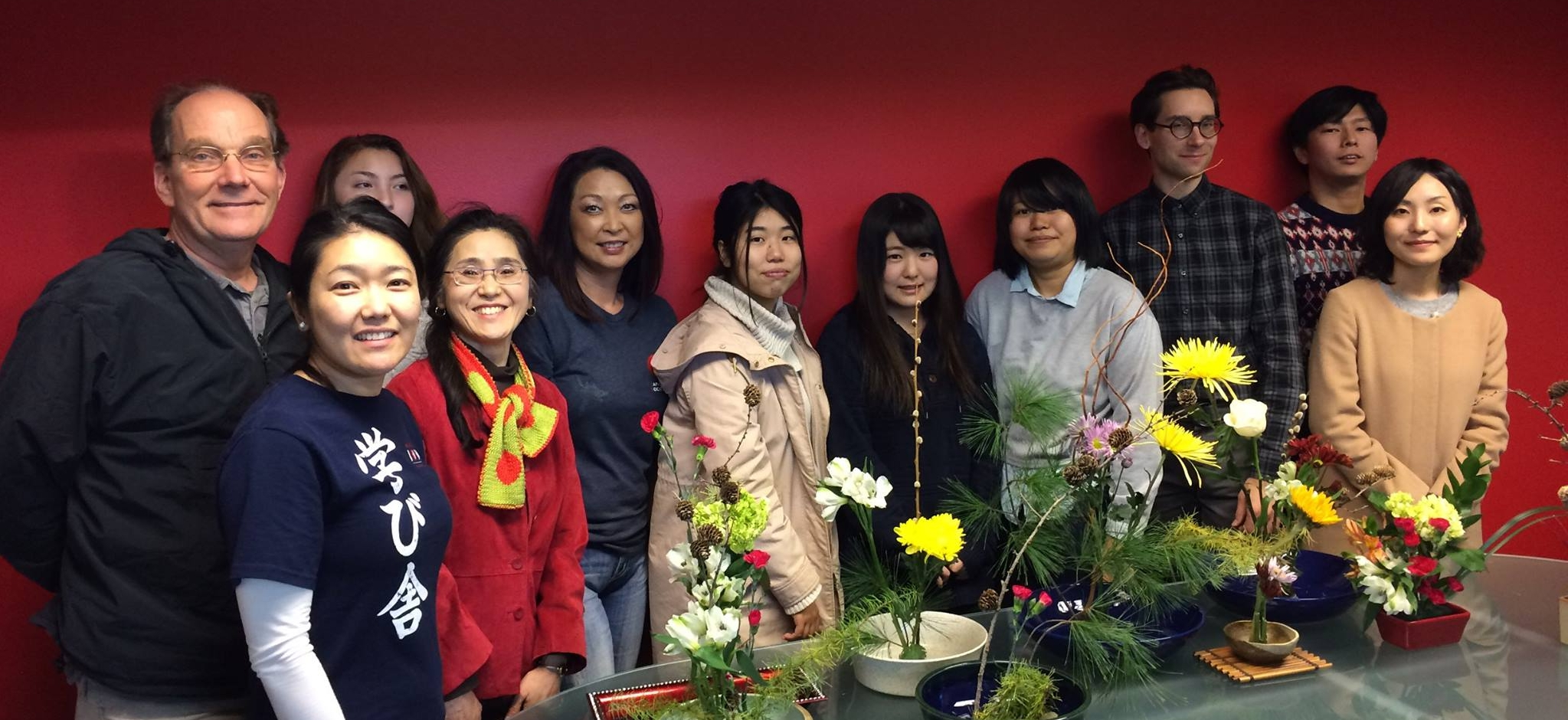 Photo from November 2016 Ikebana Workshop