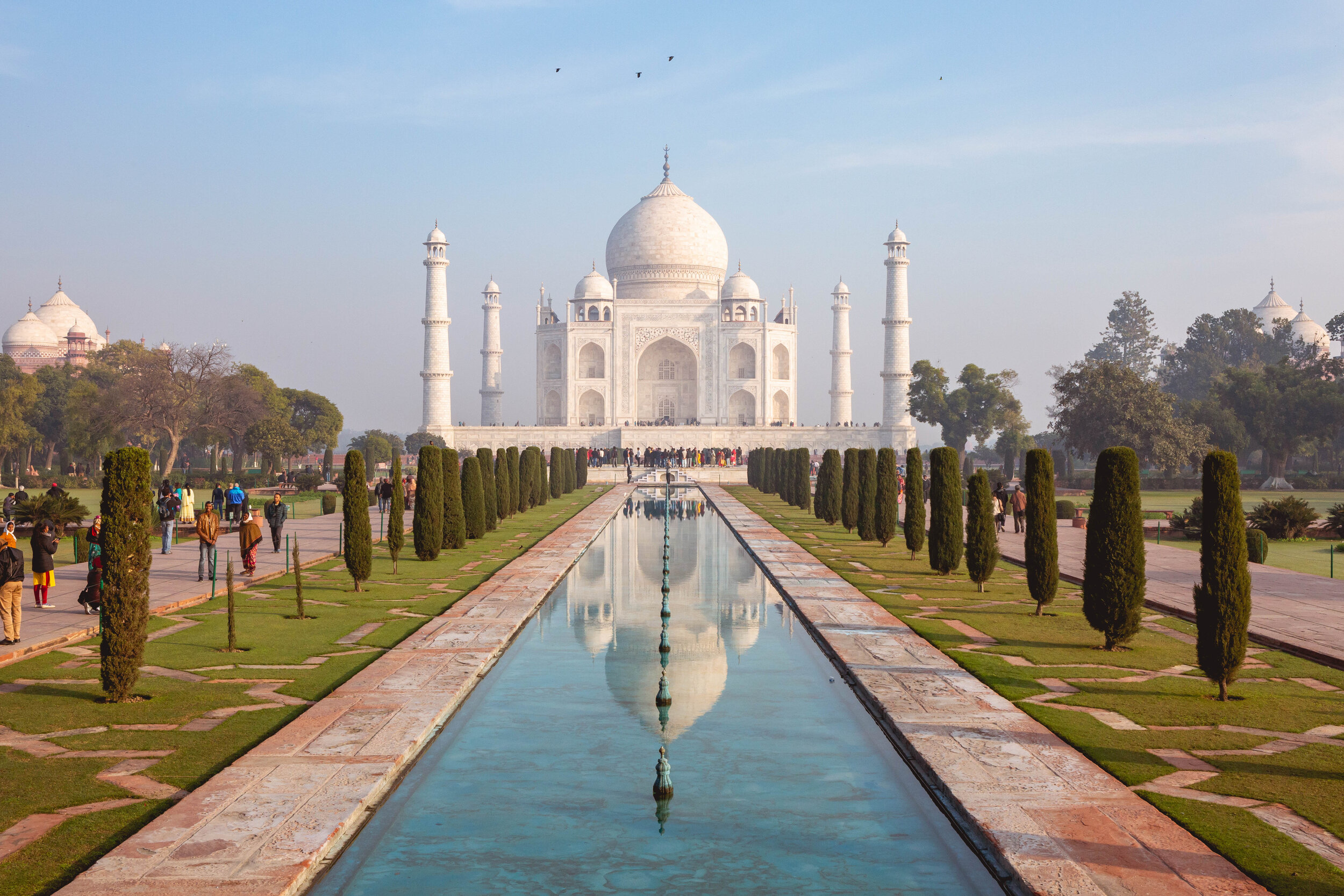 The Taj Mahal, image by Andrew Campbell Nelson.jpg