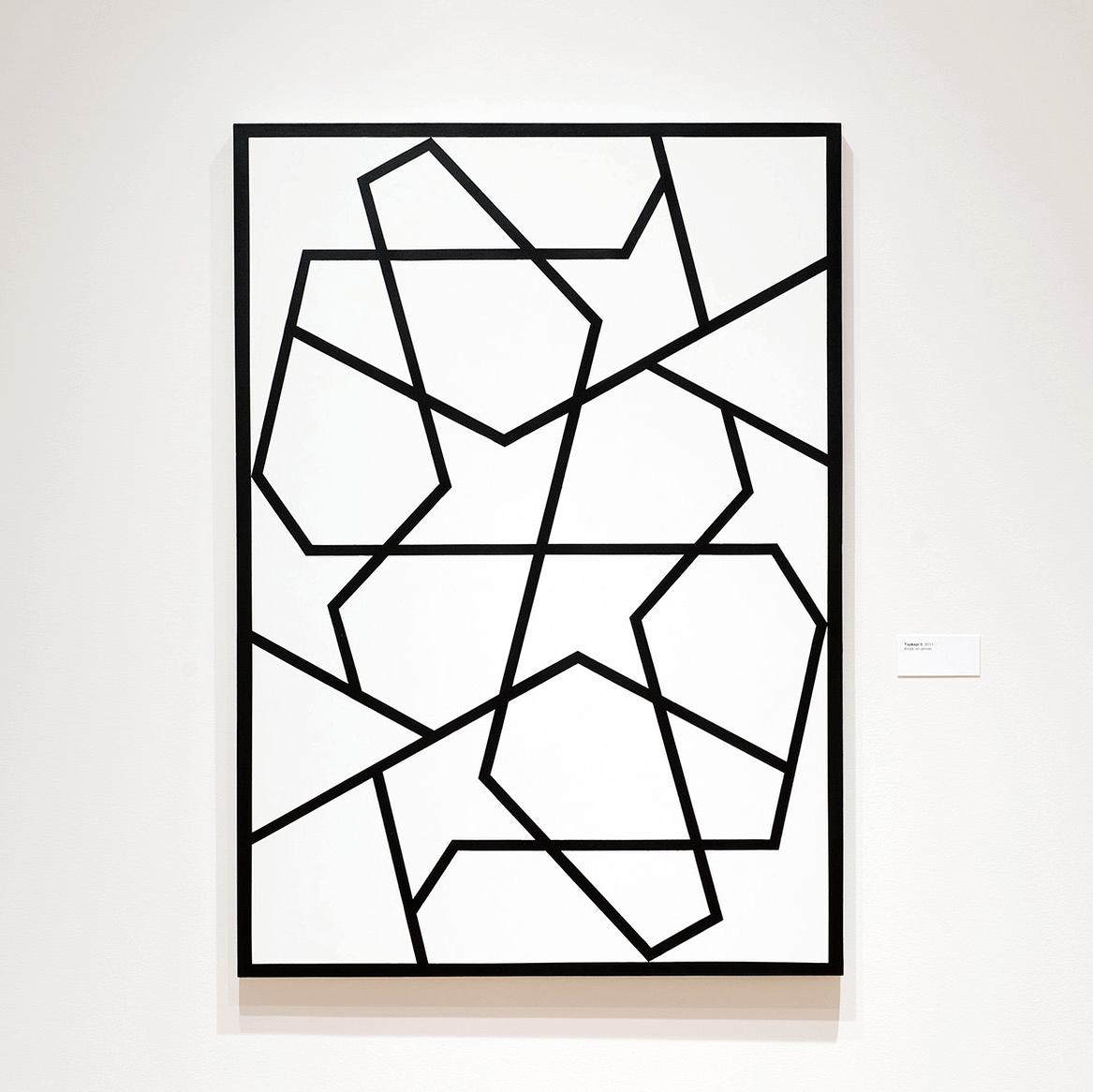 Topkapi XII   2012. Acrylic on canvas. 60 x 43 in., 152.4 x 109.2 cm.